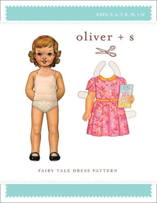 Fairy tale dress - Oliver and S sewing pattern