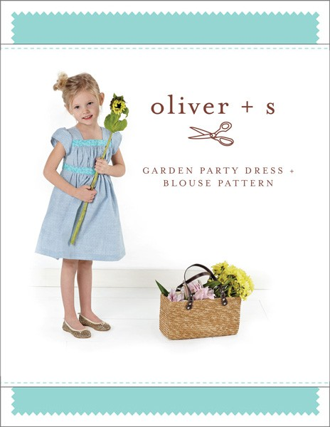 Garden Party Dress and Blouse - Oliver and S sewing pattern