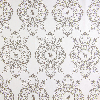 Gutermann Fabric Animals French Cottage Beige - per quarter metre