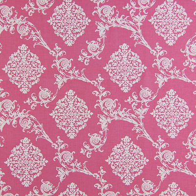 Gutermann Fabric Ornament French Cottage Pink - per quarter metre