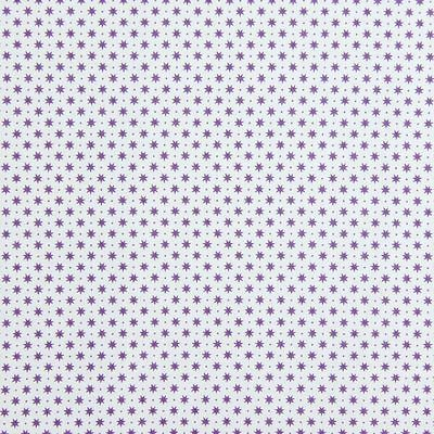 Gutermann Fabric Stars French Cottage Purple - per quarter metre