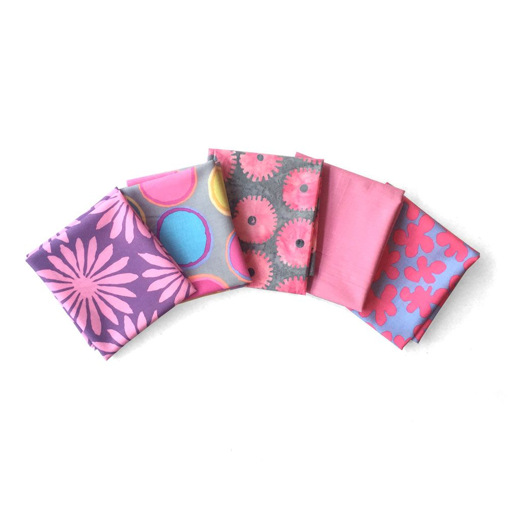 Kaffe Fassett 5 Fat Quarters - Jubilation2