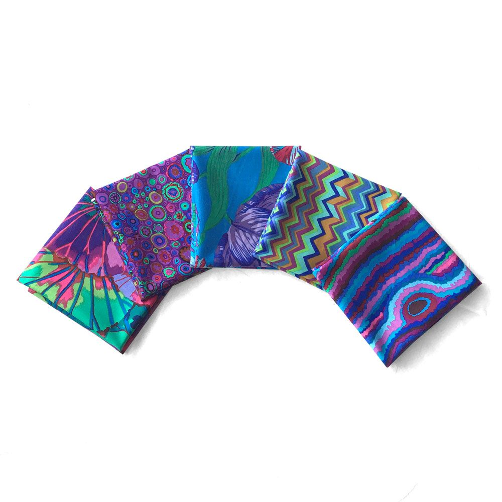 Kaffe Fassett 5 Fat Quarters - Virtuous