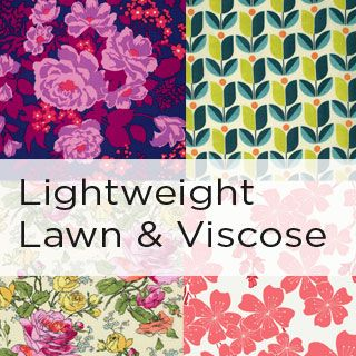 Lightweight Lawn and Viscose