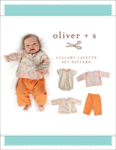 Lullaby Layette Set - Oliver and S sewing pattern