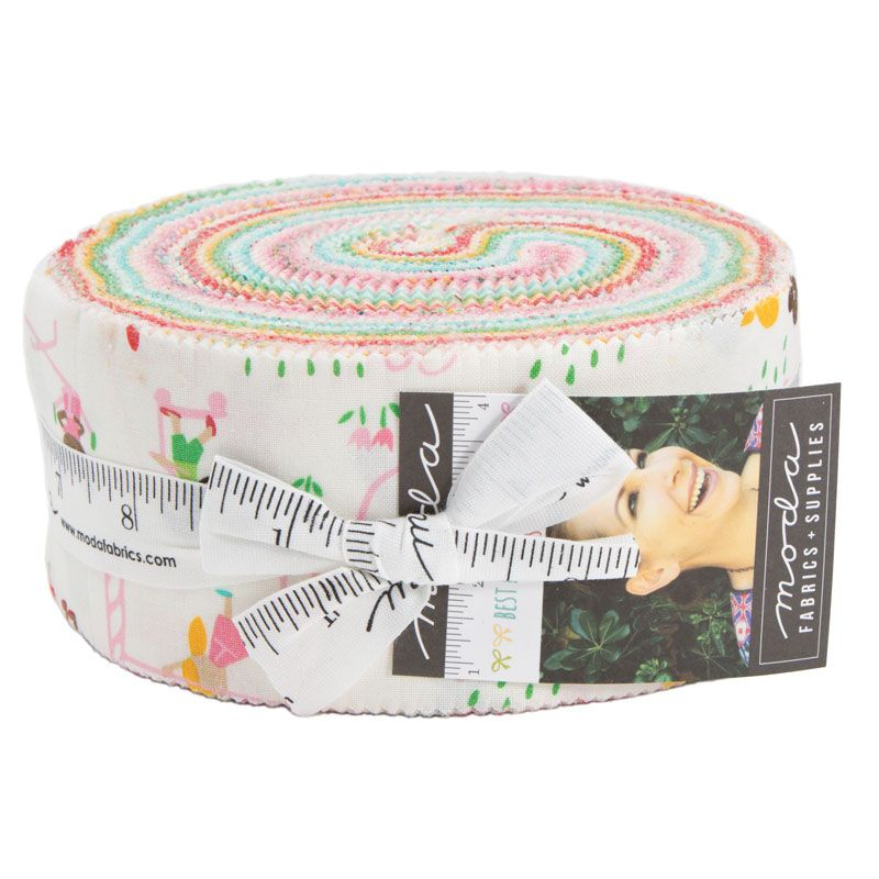 Moda Fabrics - Best Friends Forever - Jelly Roll