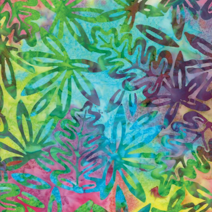 Moda Fabrics - Bonfie Batiks - Oak Leaves Jungle - per quarter metre
