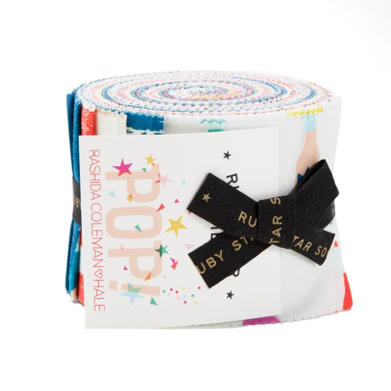 Moda Fabrics - Ruby Star - Pop & Zip - Junior Jelly Roll
