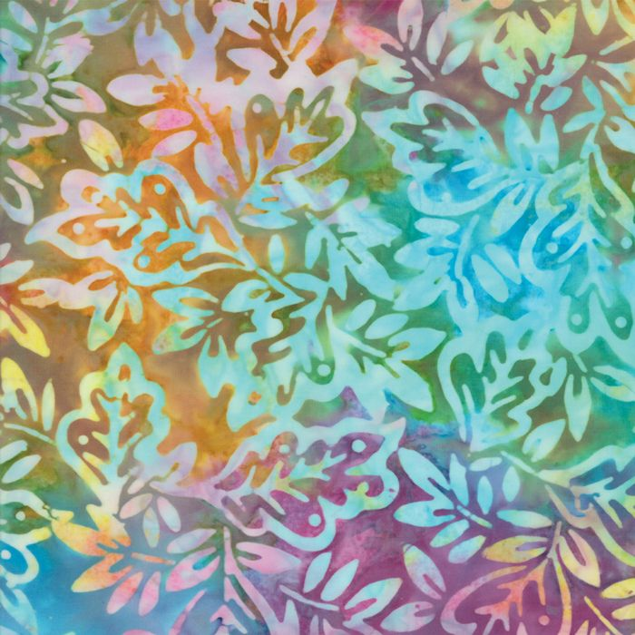Moda Fabrics - Sun-Kissed Batiks - Prism Leaves - per quarter metre