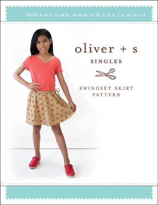 Swingset Skirt - Oliver And S Sewing Pattern (6 Months To 12 Years)