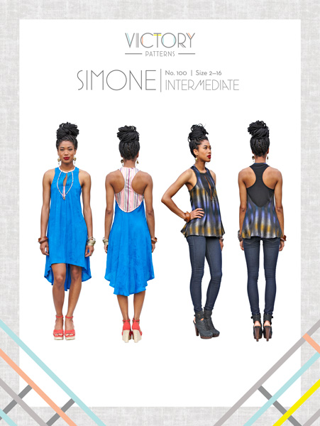 Victory Simone Sewing Pattern